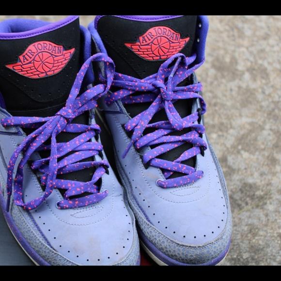 Mens Air Jordan Iron Purple 2s